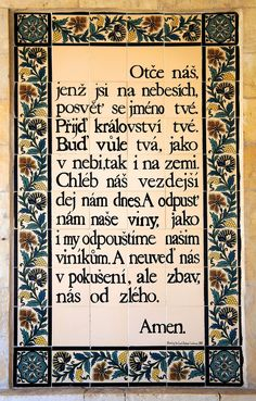 Otčenáš – Wikipedie Motto, Christianity, Affirmations, Prayers, Religion, Wisdom, Facts, Motivation, Sayings