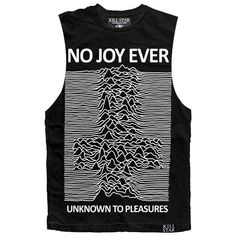 No Joy Tank [B] ❤ liked on Polyvore featuring tank tops and tops