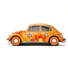 eu.Fab.com | VW Beetle Flower Mouse Wired