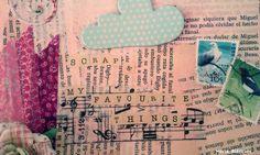 SCRAP & my favorite things- scrapper / art journaler
