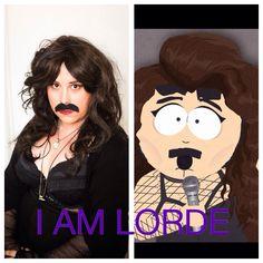 I am Lorde.  South Park Costume.  Randy/ Lorde. Halloween Costume Idea.  Orange County CA.  Margaret Soss Photography 2014.  www.margaretsoss.com