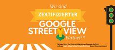 contemas.net ist zertifizierter Google Street View Partner! #ein360bildsagtmehralstausendworte Partner, Company Logo, Street View, Google, Pictures, Things To Do