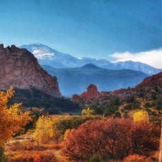 Garden of the Gods, Colorado Springs, CO 1080x1080 #nature #photography #travel