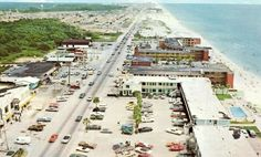 Panama City Beach, 1969~Had married during Christmas vacation my senior year and hubby carried me to Panama City when I graduated in the spring.  Ronald and Judy went with us. My first ever spring trip to Panama City...(though Mike had gone on spring break trips nearly every year he was in high school)