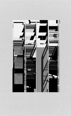 architectural-review:  Unfolded Elevation - Weaved Facade by Benjamin Allan, Unit 16 UCL