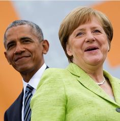 "Barack Obama tells adoring crowd in Berlin, Germany ""we can't hide behind a wall"" and addressed the refugee crisis during conversations with Chancellor Angela Merkel.   https://s-media-cache-ak0.pinimg.com/originals/f1/e5/89/f1e589111fca40b89ba924e338e78542.jpg"