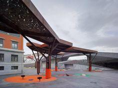 Architects: MTM Architects- Javier Fresneda Puerto & Javier Sanjuán Calle + Xpiral Architect- Javier Peña Galiano.  Location: Barakaldo, Vizcaya, Spain