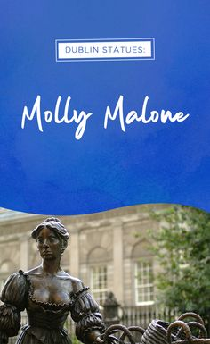 Ever taken a photo with Molly Malone? She's a Dublin icon, honored both in statue and in the song, 'Cockles and Mussels'. You may even hear it at a traditional music session in a nearby pub if you're lucky! Take a wander down Suffolk Street to see her statue for yourself.