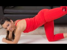 Pilates Bottom up - Das Anfänger Workout für Bauch, Beine und Po! - YouTube