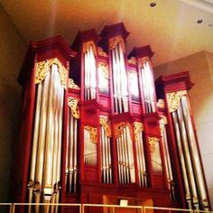 """Beautiful pipe organ""""Red rose"""""""