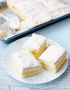 Ciasto kostka cytrynowa