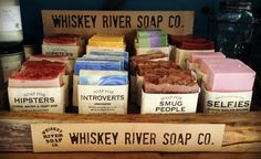 What's New: Whiskey River Soap Co.