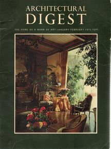 Architectural Digest January-February 1971
