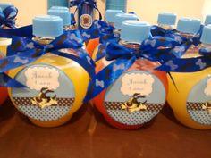 Garrafinhas de suco personalizadas