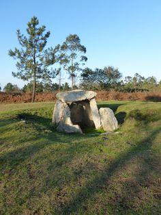 Dolmen situado en el Monte Areo (Carreño , Asturias)