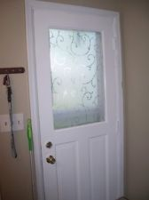 NEW Etched Lace Window Stained Glass Privacy Tint Film 24-by-36-Inch -2DayShip