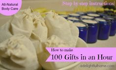 DIY - 100 Gifts in an Hour