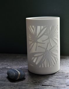 Monarchs Tea Light Beaker by AmyCooperCeramics on Etsy