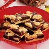 Can't leave 'em alone bars......these are my absolute favorite go-to dessert! I make them for every event!