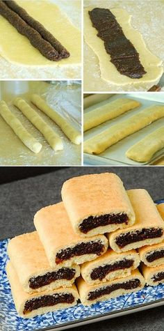 Homemade Fig Newtons Recipe .. I want this just for the dough recipes.. although I'm addicted to Fig Newtons.