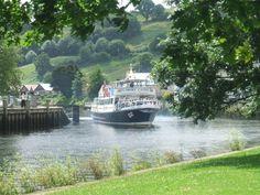 Dart Ferry arrives in Kingsbridge, Devon