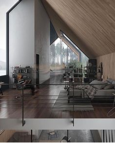 """2,280 mentions J'aime, 7 commentaires - Interior Design (@design_interior_homes) sur Instagram : """"Foggy Lake House by Tung Le Xuan Follow @_archidesignhome_ --- #beautiful #home #art #abstract…"""""""