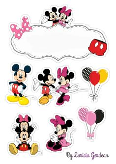 Happy birthday Agneta Is turning 1 Minnie Mouse Cake Topper, Minnie Mouse Party Decorations, Mickey Mouse Cake, Mouse Parties, Bolo Mickey E Minnie, Mickey Party, Mickey Christmas, Christmas Frames, Mickey Mouse Images
