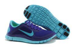 Nike Free 4.0 V3 Electro Purple Gamma Blue Women s Shoes Teen Fashion db1490eb9b02
