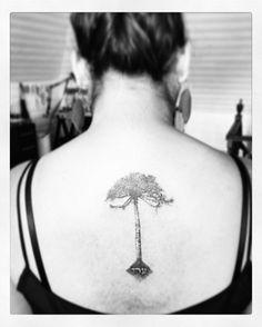 Mi primer tatuaje #araucaria #kabbalah