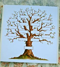 wood burning family tree - Google Search