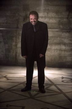 Mark Sheppard. This pic is fantastic! I can't look at it without laughing and smiling myself!