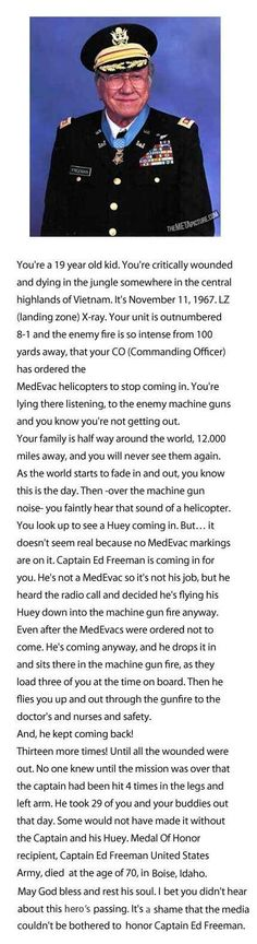 This story is amazing. Love the military!