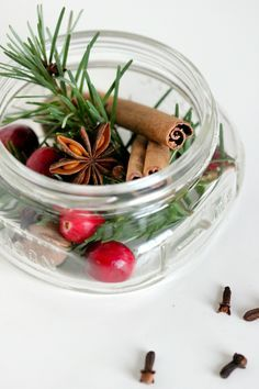Share your favorite holiday scents  by gifting loved ones with homemade potpourri in a jar. Blogger Delia features three beautiful yet inexpensive combinations that not only look pretty, but smell divine once you've heated them up.  Get the tutorial at Delia Creates.    - CountryLiving.com