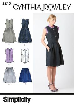 Misses' & Miss Petite Dresses. Cynthia Rowley Collection 2215
