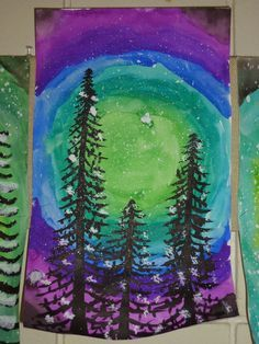 Christmas Art Projects, Winter Art Projects, Art Projects For Adults, Toddler Art Projects, School Art Projects, Teen Art Projects, Arte Elemental, January Art, Art And Craft Videos