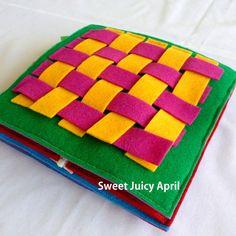 Tejer libro tranquila por SweetJuicyApril en Etsy
