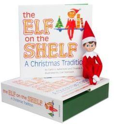 The Elf on the Shelf® A Christmas Tradition Book Set with Light Skin Tone Boy Elf #afflink