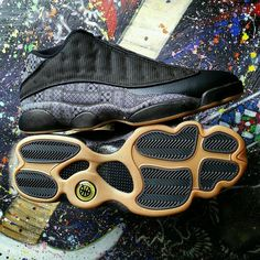 Air Jordan 13 Retro Low Q54 Quai 54 Size 13.5 #Jordan #BasketballShoes