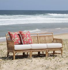 Tribeca Daybed - Rattan Chairs, , Outdoor Cushions, Hamptons, Westhampton Lounge, Pretzel Lounge, Deco Cane Lounge Suite, Deco Cane Dining Suite.