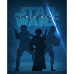 For theater room.  A New Hope // Signed Limited Edition