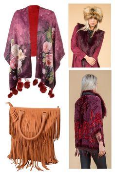 """Winter Florals"" by jayley15 on Polyvore Jayley | Luxury Women's Fashion | Kimonos | Cashmere | Wraps | Accessories | Suedette Capes"