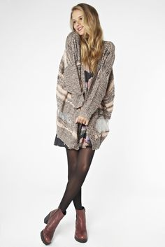 The cozy minkpink cardi