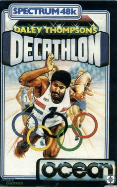 Daley Thompson's Decathlon by Ocean for the Spectrum Classic Video Games, Retro Video Games, Retro Games, My Childhood Memories, Childhood Toys, Game Development Company, Pc Engine, School Videos, Retro Toys