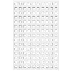 Acurio Latticeworks Fret 32 in. x 4 ft. White Vinyl Decorative Screen Panel-3248PVC-W-FRT - The Home Depot Decorative Screen Panels, Vinyl Lattice Panels, Plastic Lattice, Privacy Shades, Pvc Moulding, Shade Screen, Wall Shelf Decor, Vinyl Decor, Wood Headboard