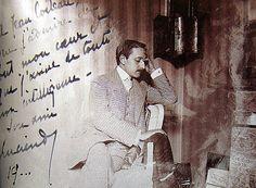 Lucien Daudet: photo dedicated to Jean Cocteau (BlueSuddenSubway, via Flickr)
