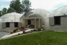 My aunt and uncle's Monolithic Dome home.