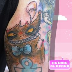 By Noemie Alazard @ Paris & Lille Watercolor Tattoo, Geek Stuff, Kawaii, Paris, Tattoos, Tattoo Art, Geek Things, Montmartre Paris, Tatuajes