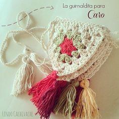 Guirnalda Banderin tejido al crochet