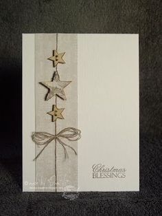 Let& take time .: And even more Christmas cards - Let& take time …: And even more Christmas cards - Christmas Card Crafts, Homemade Christmas Cards, Christmas Cards To Make, Homemade Cards, Handmade Christmas, Holiday Cards, Christmas Snacks, Christmas Family Feud, Star Cards