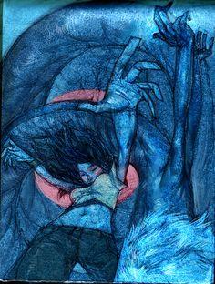 blue by tobiee on deviantART